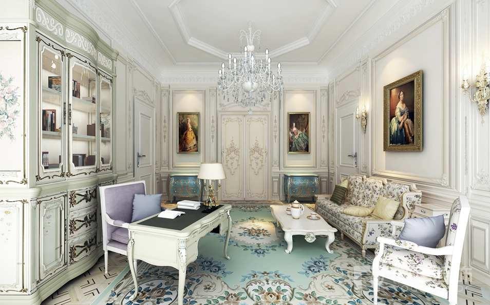起初它是一种室内设计的风格,后来扩展到建筑,雕刻,绘画,建筑物的细节