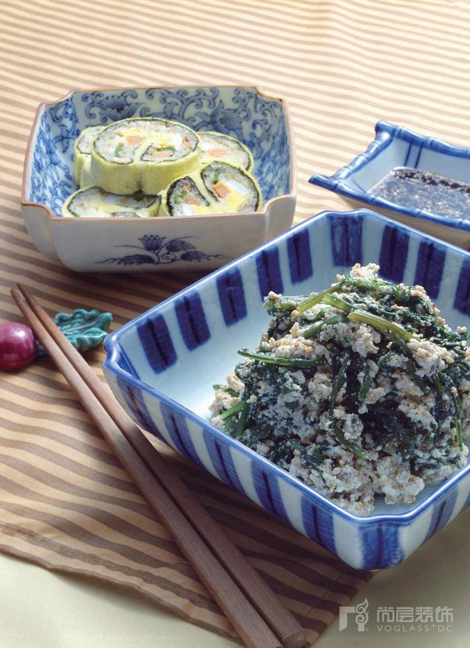 尚层装饰别墅生活野菜美食