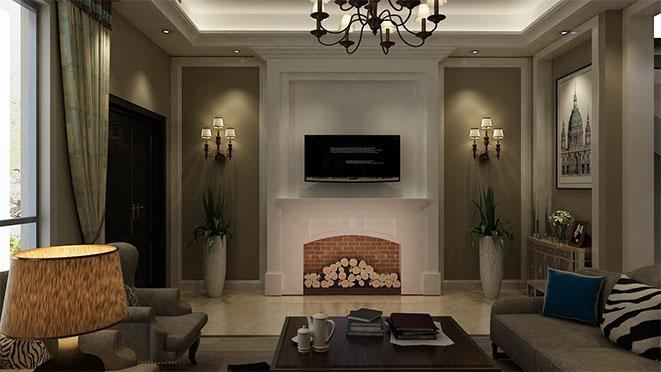 复地朗香美式风格别墅设计