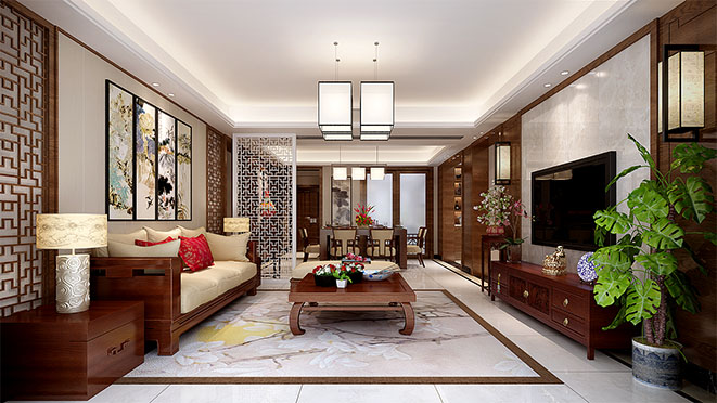 简中别墅风格设计