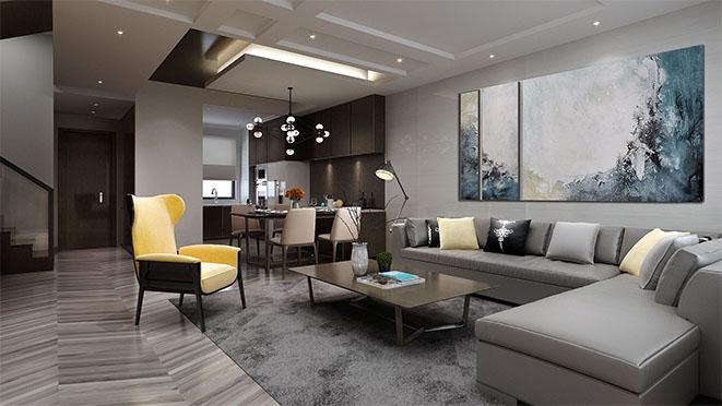 阿卡迪亚现代简约家居设计