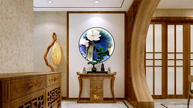 南京别墅装饰新中式风格
