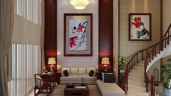 南京别墅装饰中式风格