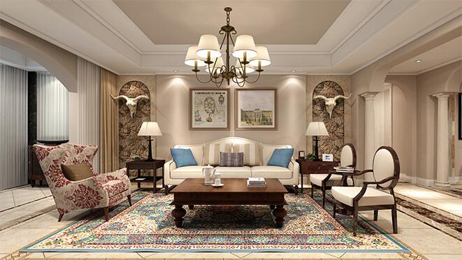 尚层装饰别墅设计效果图