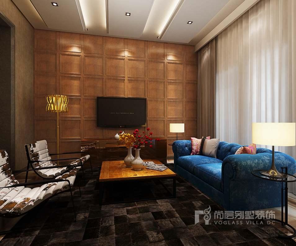 中海尚湖世家现代家庭室别墅装修效果图