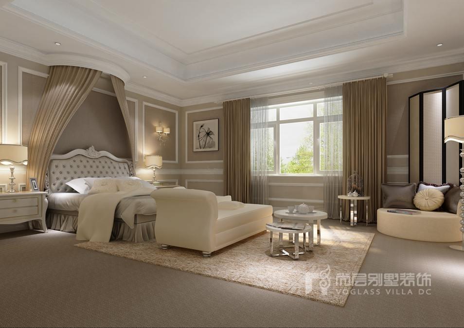 北京颐和原著别墅设计,简欧风格