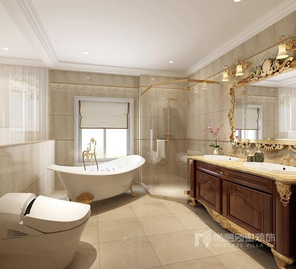 亚运新新家园别墅欧式卫生间装修效果图