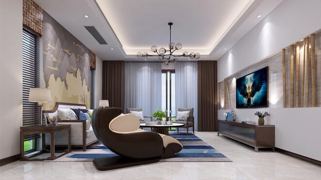尚层装饰设计师李壹明南大和园设计效果图
