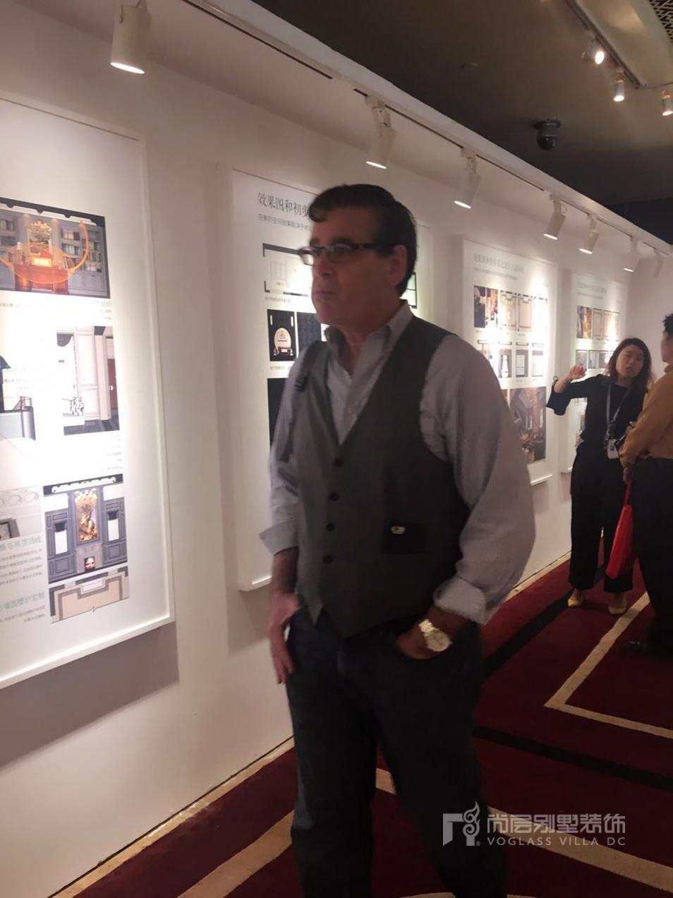 尚层国际别墅设计展展会吸引国际友人关注