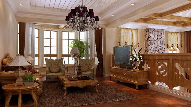 中天御园别墅-托斯卡纳别墅设计风格你值得拥有