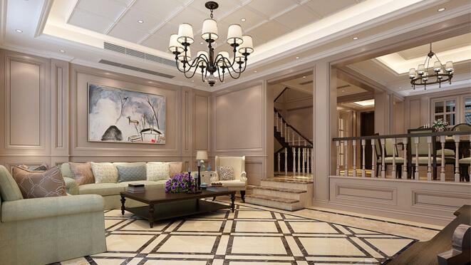 别墅美式装修效果图