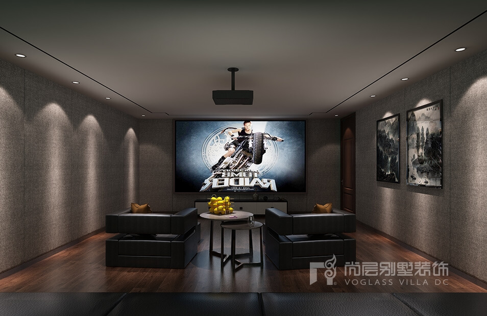 融创桃花源新中式别墅装修设计案例