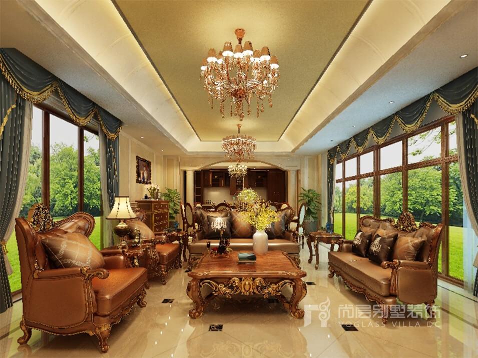 欧式别墅豪华装修_家居生活的惬意和浪漫