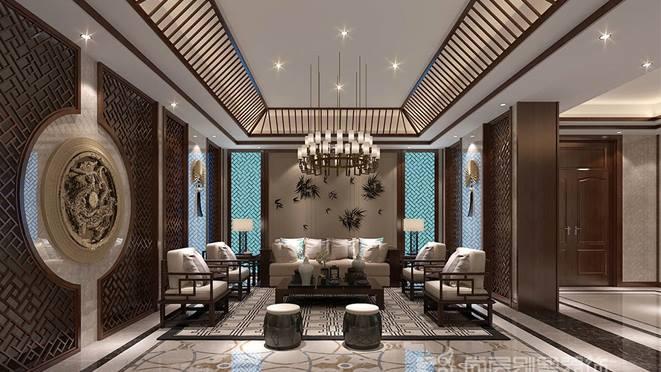 传统中式别墅装修