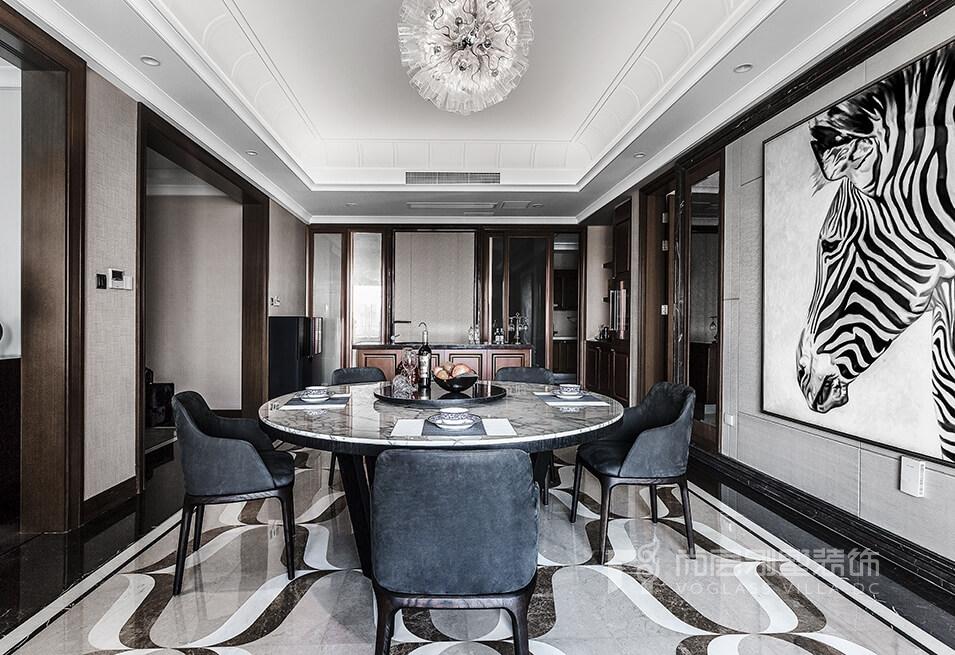 仁恒江湾城380平米现代简约风格实景图案例
