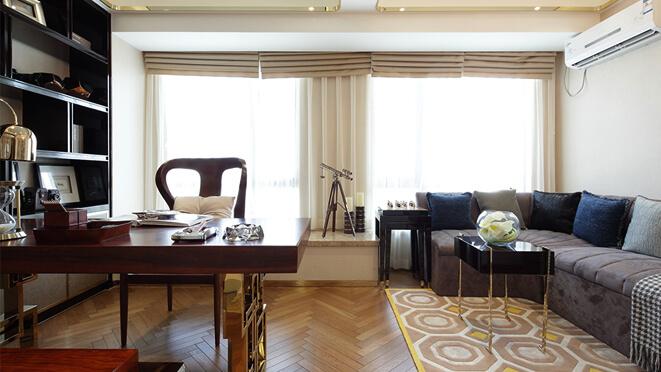 中海120平米港式风格样板间别墅装修