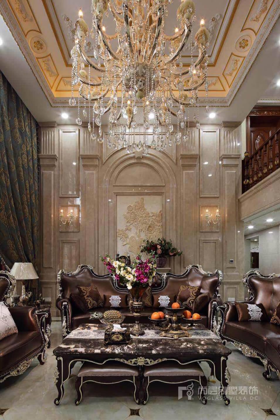南京裝修公司:熙龍山院300平米別墅歐式風格裝修案例