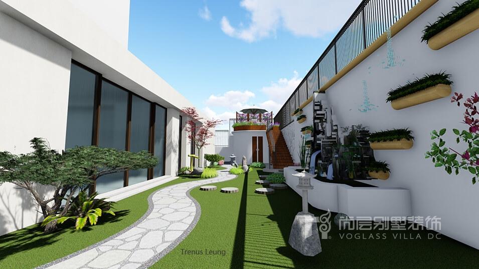 融创桃花源350平米平层别墅设计_北欧现代图片