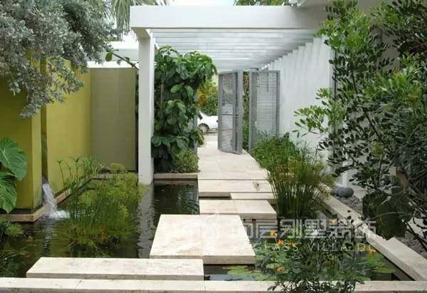 联排别墅庭院如何设计