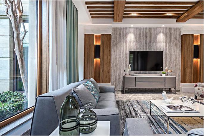 寶華櫟庭別墅,現代風格裝修