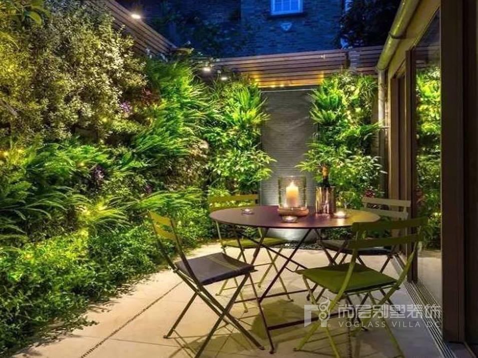 【尚层装饰】一楼带院子的别墅,要如何装修设计得既实用又美观?图片
