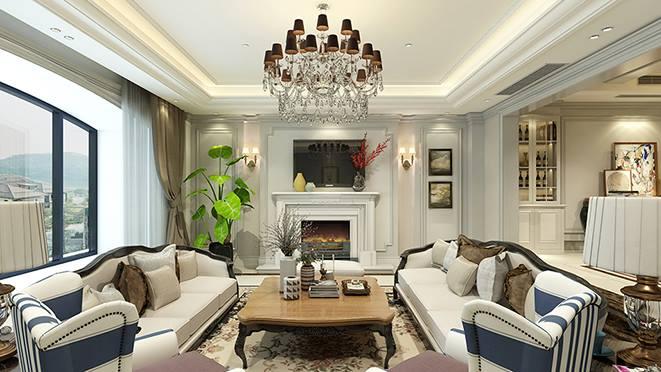 青林湾350平方米美式风格别墅设计案例
