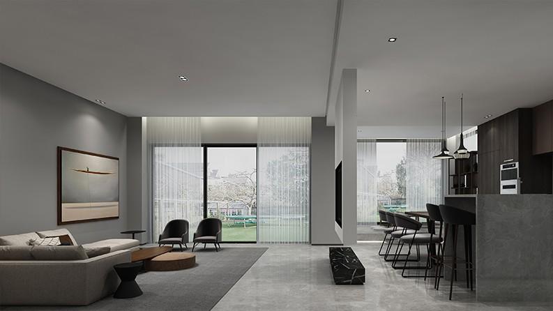 黄龙溪谷|现代空间,线条艺术