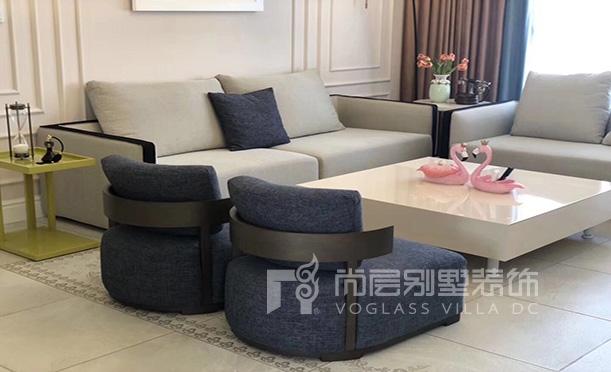 上海城-现代简约风格设计效果图