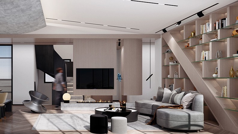 锦官阁|现代空间设计