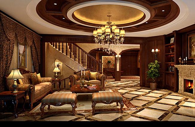 别墅装修效果图欣赏,设计风格与众不同能够变成焦聚