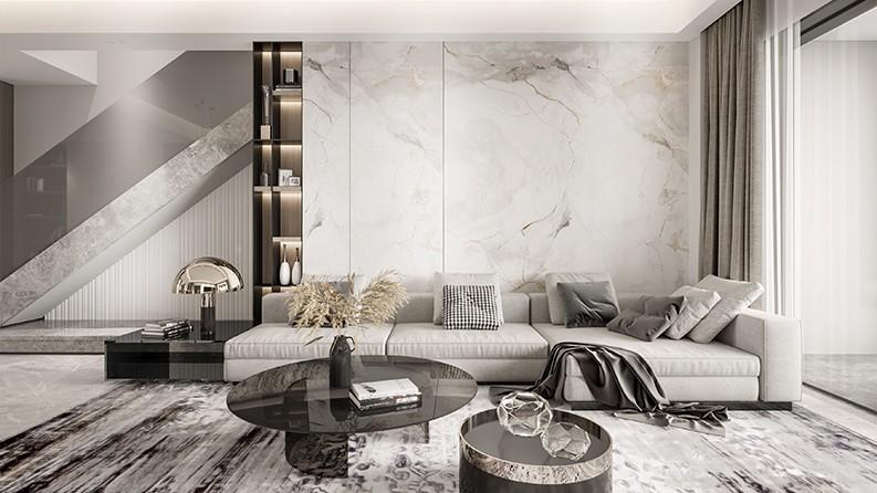 香林堤|现代轻奢,绘制空间美