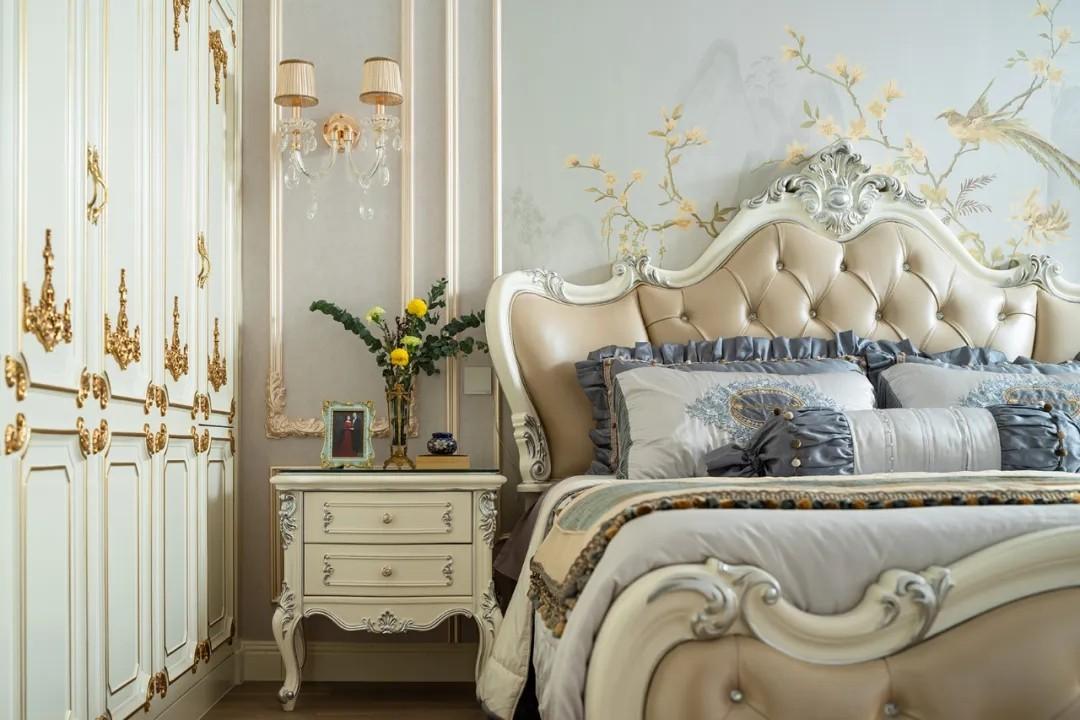 尚层装饰别墅法式风卧室装修设计