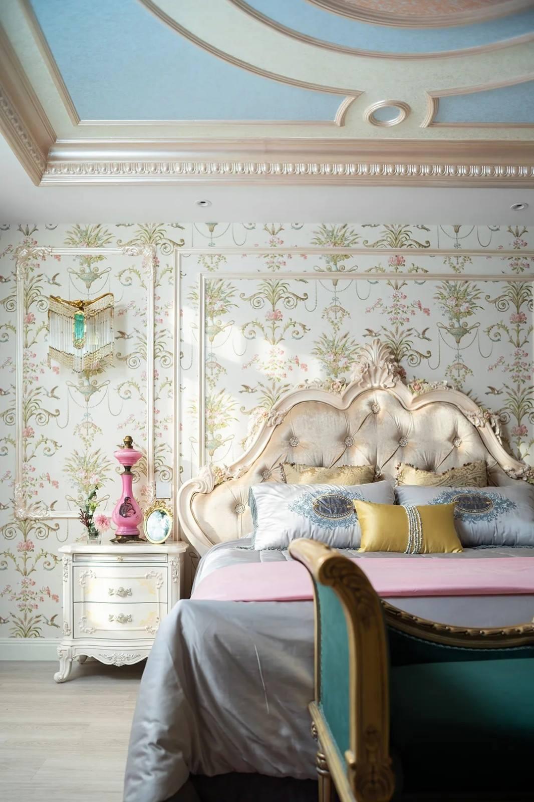尚层装饰别墅法式风女儿房装修设计