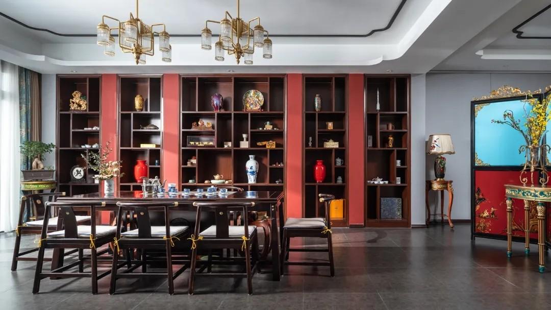 尚层装饰别墅法式风艺术室装修设计