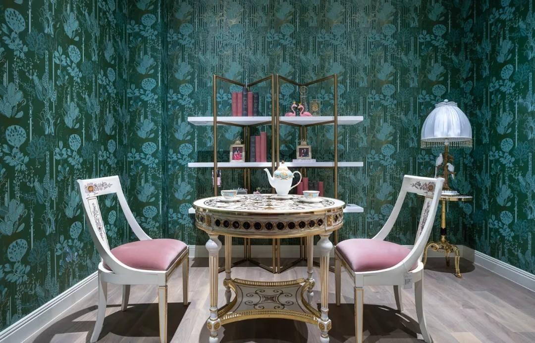 尚层装饰别墅法式风小茶室装修设计