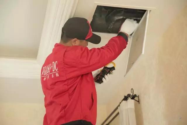 尚层别墅装修管家服务清洗空调