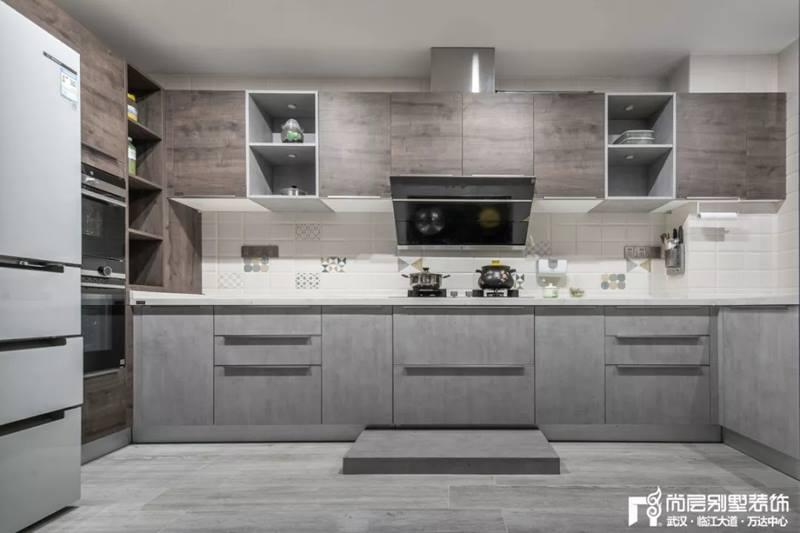 尚层装饰别墅全案设计厨房装修效果