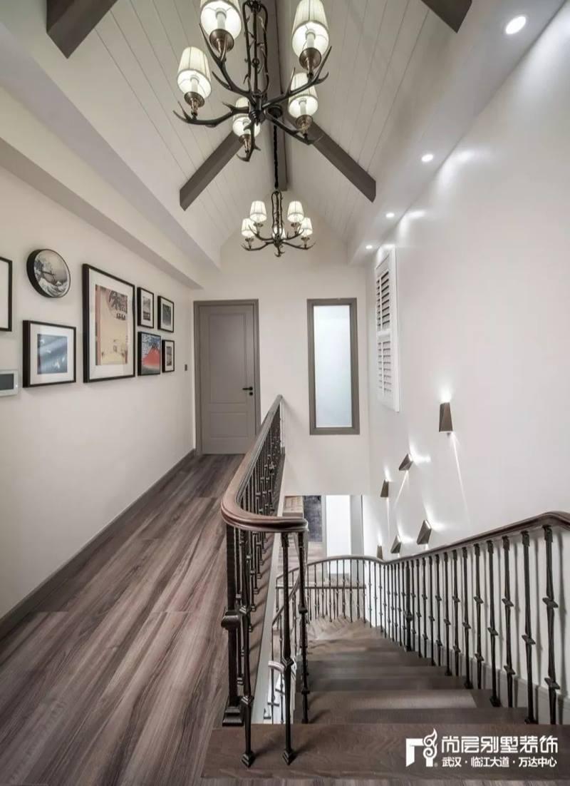尚层装饰别墅全案设计走廊装修效果