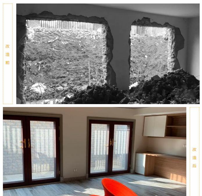 尚层装饰别墅全案设计地下室改造前后装修效果