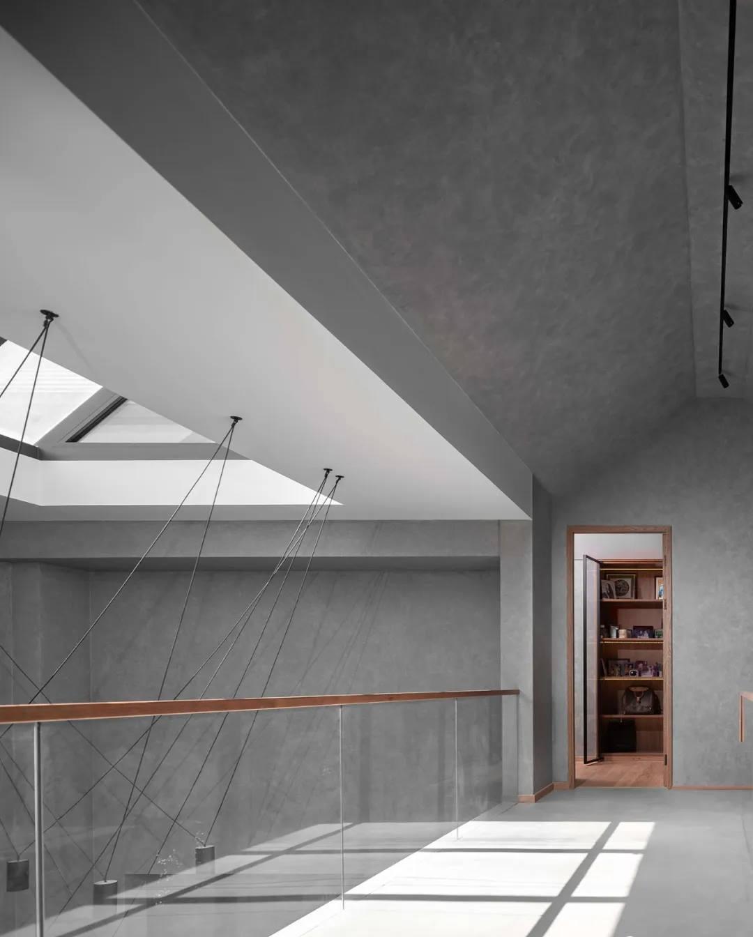尚层别墅装修作品极简风格设计