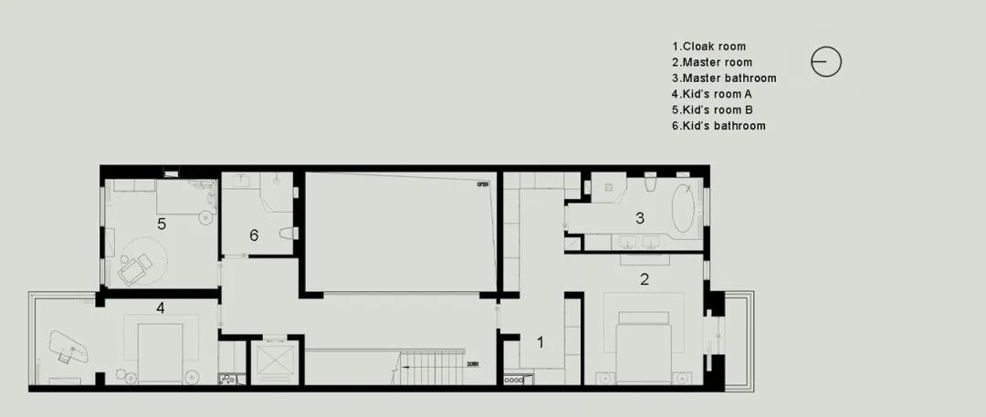 尚层别墅装修业主家户型规划图