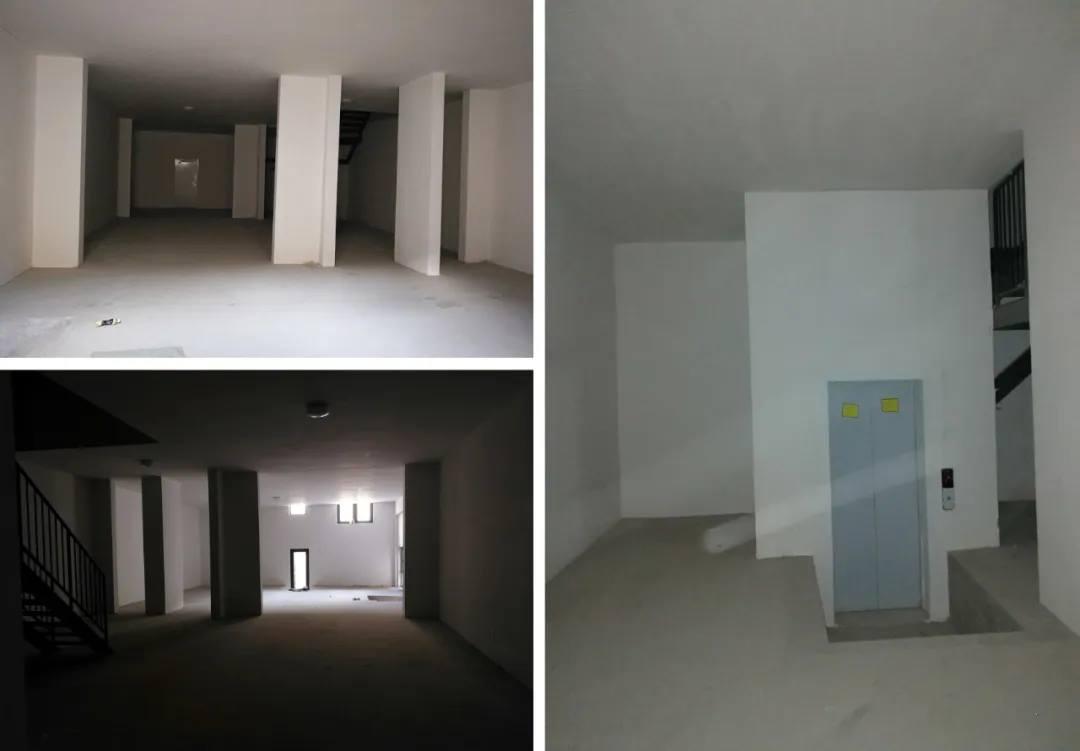 尚层别墅装修业主家原始地下室