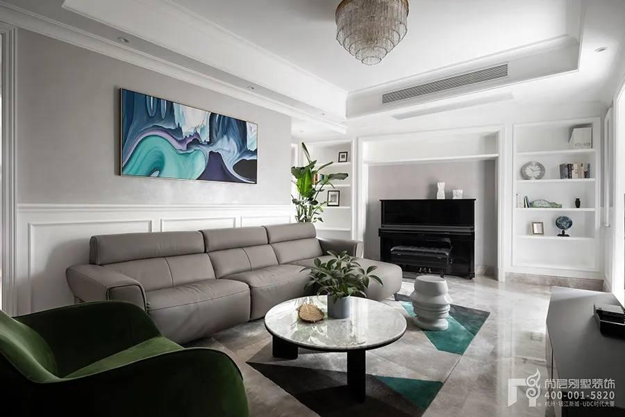 尚层实景装修作品家庭室设计