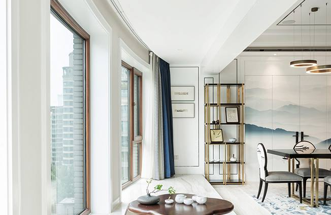 别墅室内家装色彩的搭配特性表明