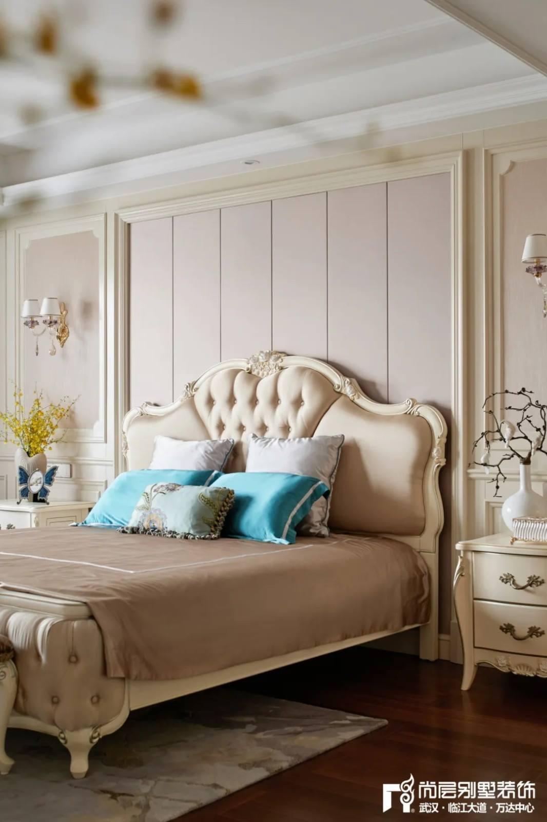 尚层装饰轻奢法式风别墅卧室装修效果