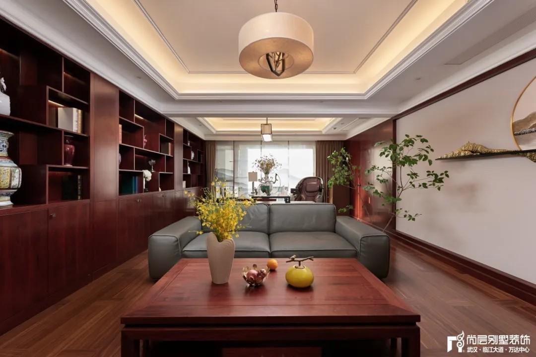 尚层别墅装修轻奢法式风休闲室装修设计