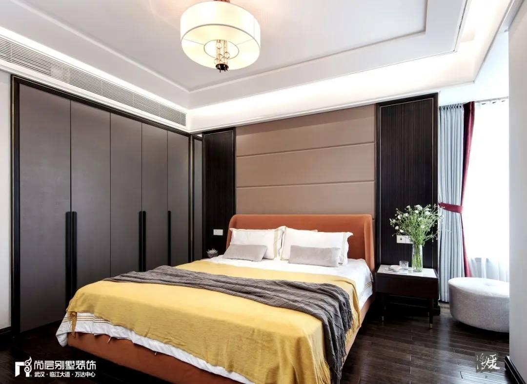 尚层别墅装修实景案例次卧室设计