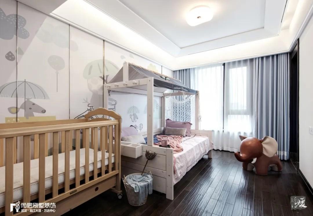尚层别墅装修实景案例儿童房设计