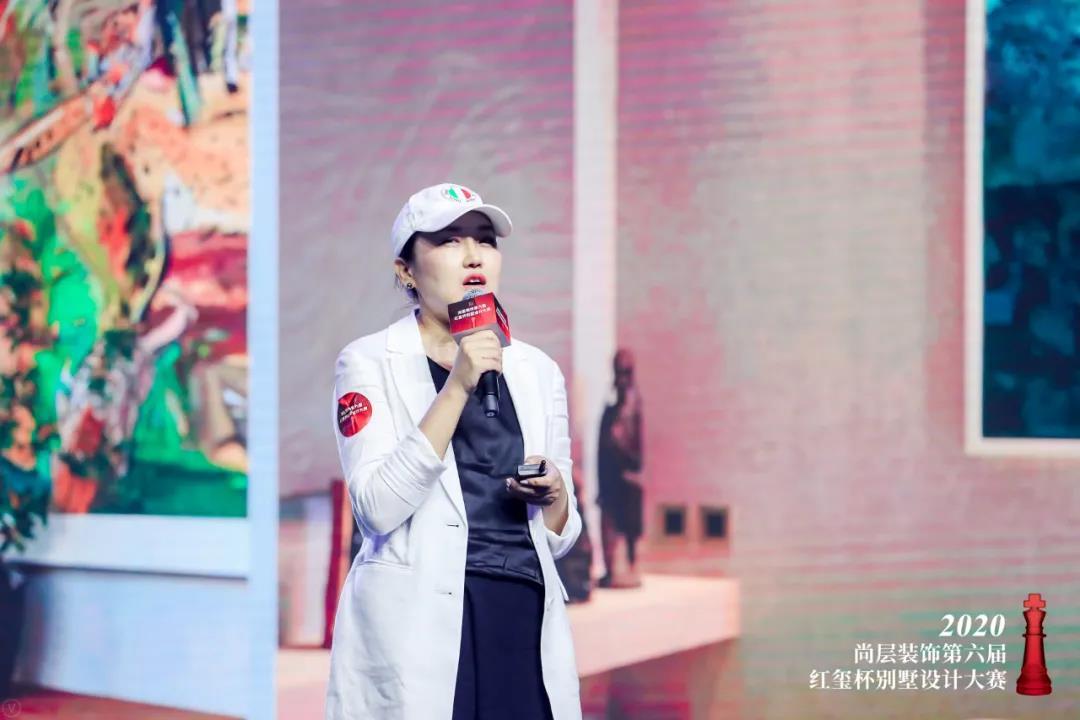 尚层装饰红玺杯金奖设计师张萍