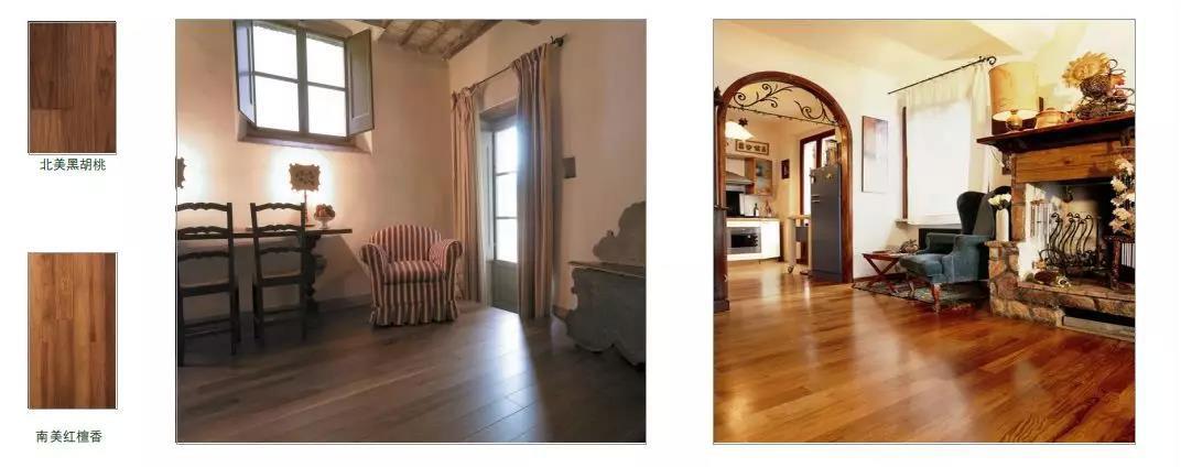 尚层装饰别墅装修全案设计地板铺贴方案